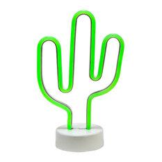 Cactus LED Novelty Lights, Set of 2