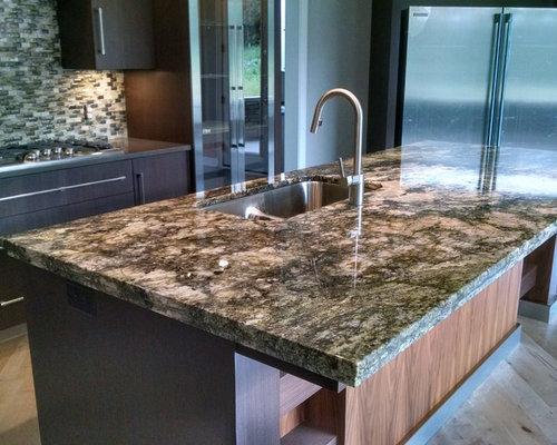 Delightful Double Laminate Granite Island Top   Kitchen Countertops