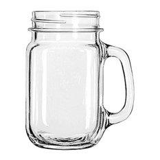 - Libbey Drinking Jar, Set of 6 - Glasses