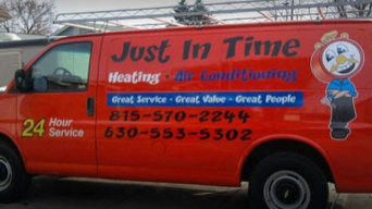Just In Time Heating, Air Conditioning, Plumbing, & Remodeling Services