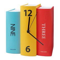 - Horloge-Livres Karlsson - Horloge à Poser