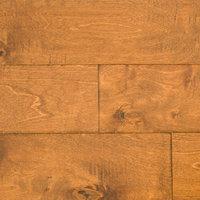 """Ugen Floors 3/8"""" Engineered Hardwood Handscraped Birch Collection, Sample"""