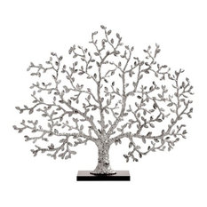 Michael Aram 411605 Tree of Life Decorative Fireplace Screen Nickelplate