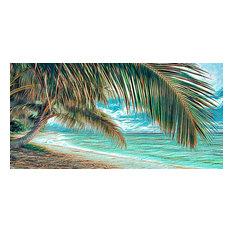 Pupukea Beach Palms, Canvas Giclee