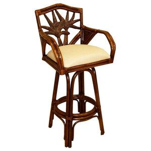 Amazing Delaware Swivel Barstool Traditional Bar Stools And Inzonedesignstudio Interior Chair Design Inzonedesignstudiocom