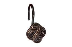 Shower Hooks - Gaelic Knot, Oil Rubbed Bronze