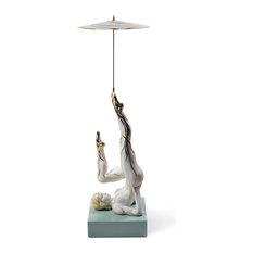 Lladro Balancer with Parasol Figurine