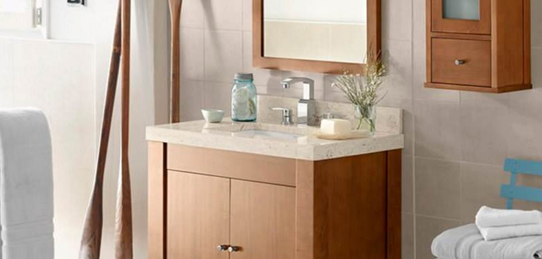 Lovely Whether you are looking for a vanity that makes a statement or blends in with the style of the rest of your home start with this collection of small but