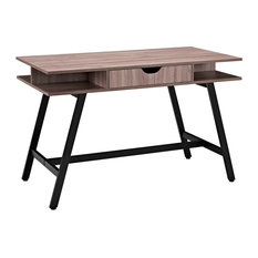Turnabout Office Desk, Birch
