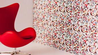 Mi Casa Su Casa Wallpaper - Full Colour