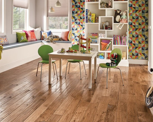 Floor Feature: Paragon Solid Hardwood With Diamond 10® Technology