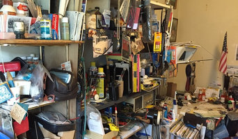decluttering and packing