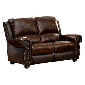 Sterling Leather Loveseat IDF-6191-LV  Furniture of America E-Commerce by Enitial Lab