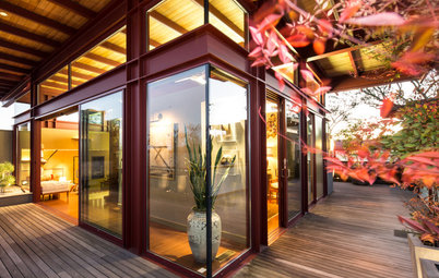 USA Houzz: Designer Twists on Japanese Style Creates a Unique Home