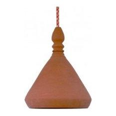 Meli Melo Terracotta Pendant