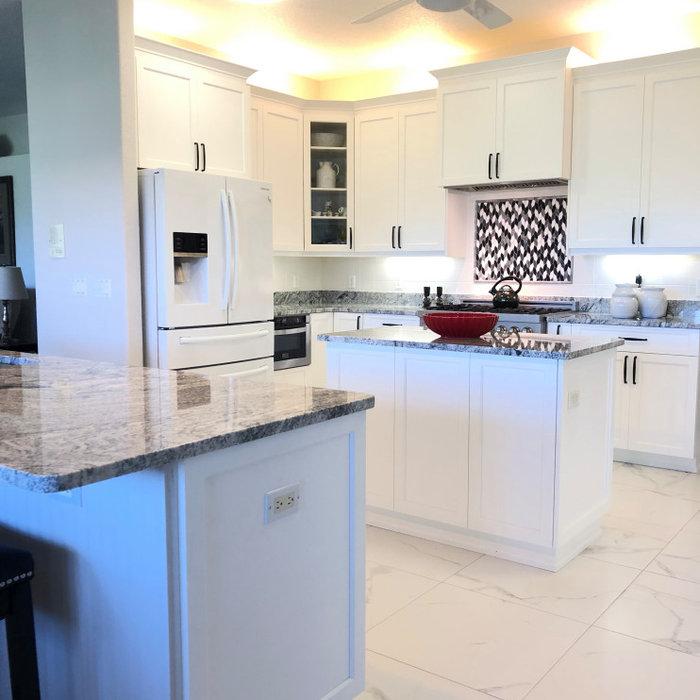 LaCita kitchen facelift.
