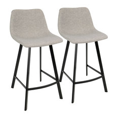50 Most Popular Low Back Bar Stools And Counter Stools For