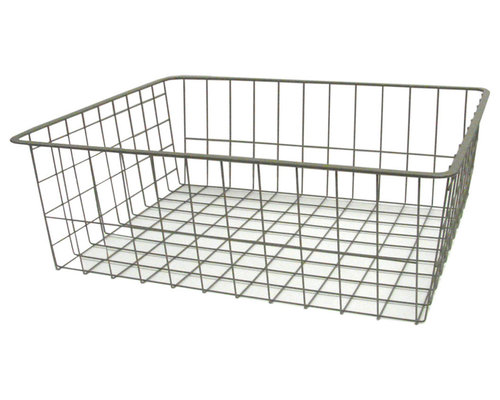 17 In. W X 7 In. D Wire Basket   Storage And Organization