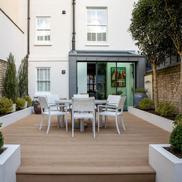 A Town House Refurb & Extension with the Conservation Area