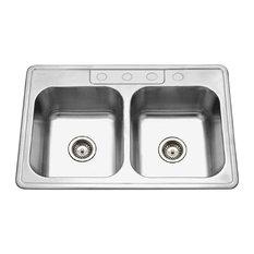 3 Hole Kitchen Sink