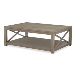 Legacy Rachael Ray High Line Cocktail Table, Soothing Greige