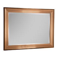 Copper Wall Mirror, 76x104 cm