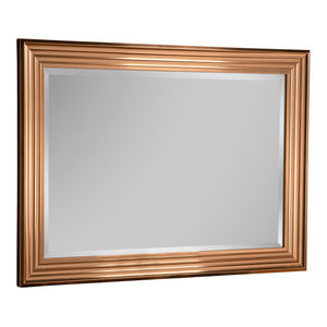 Copper Wall Mirror, 76x104 cm