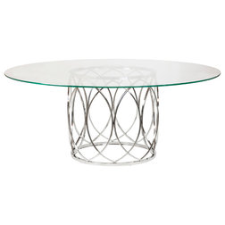 Contemporary Dining Tables by The Khazana Home Austin Furniture Store