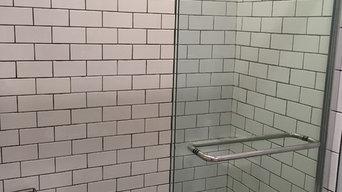 Narrow bathroom addition