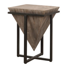 Uttermost Bertrand Grace Feyock Iron And Fir And Mdf Accent Table 24864
