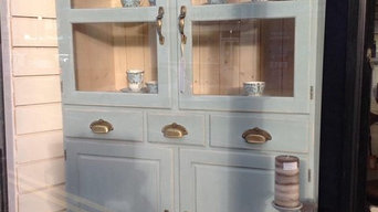 Ducal Glass Fronted Cabinet