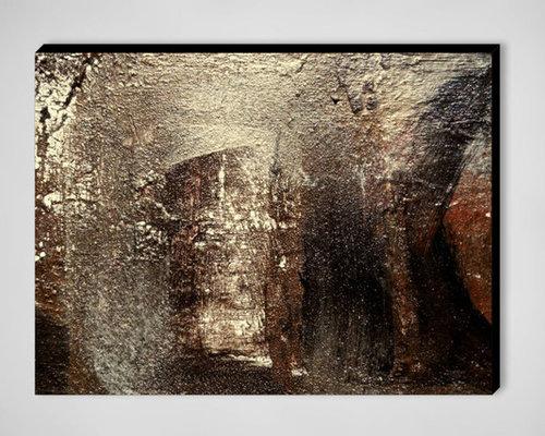 HEALING LIGHT zen wall art, abstract painting, contemporary artwork  painting - Artwork