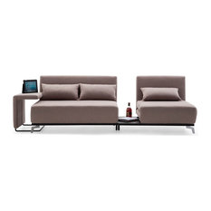 JNM Furniture   JH033 Modern Sofa Bed W/2 End Tables   Sleeper Sofas