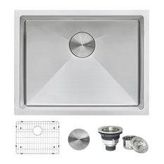 21-inch Undermount 16 Gauge Stainless Steel Sink - RVH7121