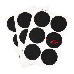 Black Chair Pads Felt Pads Furniture Pads Best Floor Protectors 54 Pcs