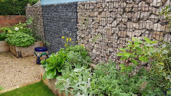 small residential garden