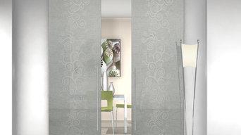 porte Cristal - mod Agorà grigio