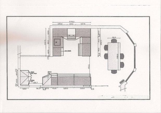 Contemporain Plan au Sol by Roberta Becherucci - Cuisines et Décoration