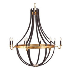 URBAN CLASSIC 1502G43SR Woodland 8-Light Chandelier
