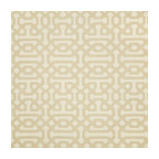 Sunbrella Fretwork Flax Fabric 45991-0001, Sunbrella Fabrics by the Yard