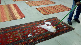 Cleaning your rugs regularly will improve their look, feel and make them last!