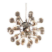 Modern Crystal Chandelier Fixture 6-Light