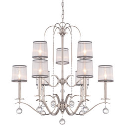 New Contemporary Chandeliers by Lighting New York