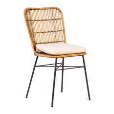 Modern Bamboo Dining Chair