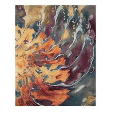 "Prismatic Area Rug, Multicolor, 8'6""x11'6"""