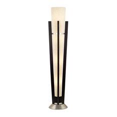 Deco Trophy 1 Light Floor Lamp in Espresso
