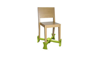 Kaboost Portable Chair Booster, Green