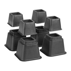 Bed Risers Adjustable System, 8-Piece Set