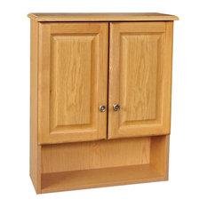 Design House Claremont 21 X26 Cab Oak 2 Door Honey Finish