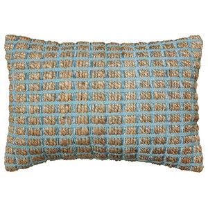 "Kiana Pillow, Blue, 16""x24"""